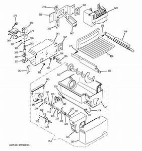 Ice Maker  U0026 Dispenser Diagram  U0026 Parts List For Model