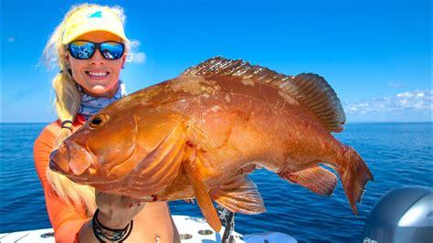 grouper deep sea fishing mexico gulf catch