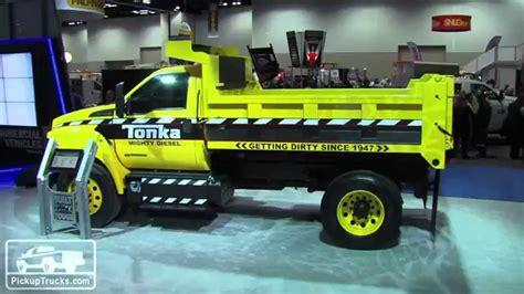 Mighty Ford F 750 Tonka Dump Truck   YouTube