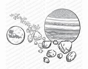 Asteroid Belt Drawing | www.pixshark.com - Images ...