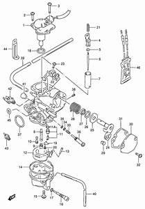 Carburetor For 1993 Suzuki Ag100
