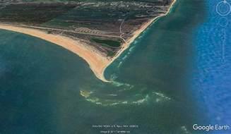 New Island Off North Carolina Coast