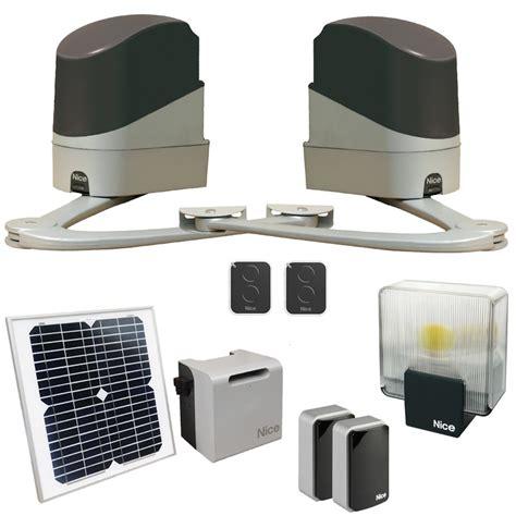 motorisation portail solaire popkit 7124 solemyo energie solaire habitat automatisme