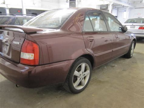 Parting Out 2002 Mazda Protege  Stock # 120015 Tom's