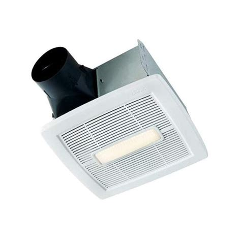 humidity sensing bathroom fan with led light nutone aen110l white invent series 110 cfm 1 3 sone