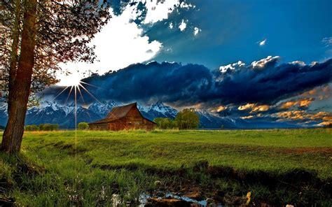 mountain cabin wallpaper  desktop wallpapersafari