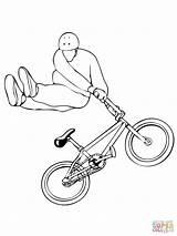 Bmx Coloring Whip Drawing Tail Ausmalbilder Ausmalbild Kleurplaat Bike Motorcross Zum Printable Template Para Kostenlos Biker Drawings Supercoloring Clipart Motocross sketch template