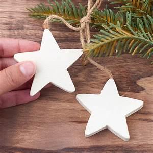 Primitive, Wood, Star, Jute, Trim, Ornament, -, Americana, Decor