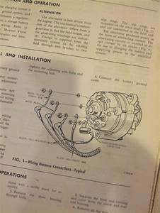 1966 Alternator    Regulator Wiring