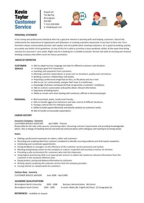 Sle Of Resume For Customer Service by Customer Service Skills Resume Exles Sle Resume