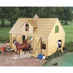 breyer deluxe wood barn just imagine toys With buy a horse barn