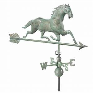 Good Directions 37 in. Whale Weathervane - Blue Verde ...