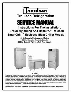 Download Free Pdf For Traulsen Rbc200 Refrigerator Manual