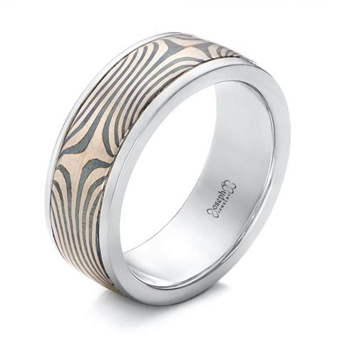 mens mokume   band  bellevue seattle