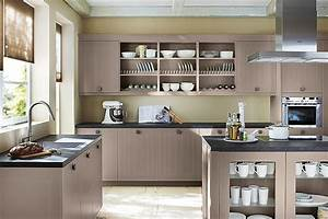 Küche Offene Regale : k che bernice matt lack tr ffel ~ Markanthonyermac.com Haus und Dekorationen