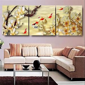 Canvas, Pictures, White, Magnolia, Wall, Art, Canvas, Paintings, Living, Room, Wall, Decor, Picture, Canvas