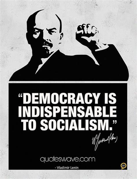democracy  indispensable  socialism vladimir lenin