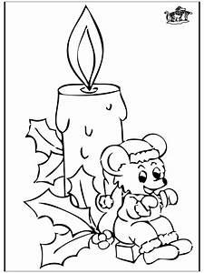 Kerze Und Maus Ausmalbilder Weihnachten