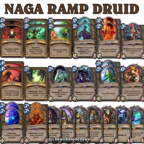 druid decks hearthstone top decks hearthstone naga r druid s21 hearthstone news