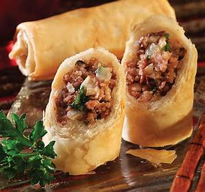 meatloaf shiitake phyllo rolls athens foods
