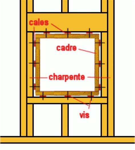 faire un cadre de porte cloison moiti 233 placo moiti 233 transparente