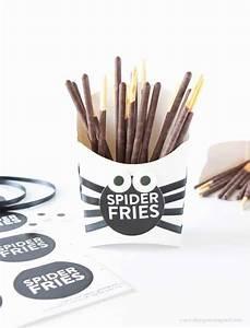Spider Fry DIY Halloween Treat Idea