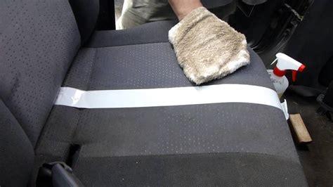 comment nettoyer le tissu d un fauteuil comment nettoyer un si 232 ge de voiture en tissu
