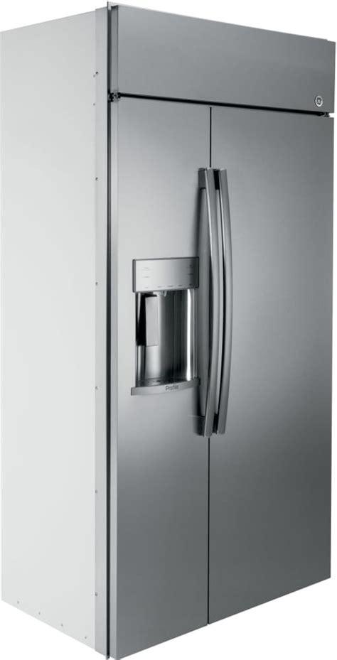 ge psbyskss   built  side  side refrigerator   cu ft capacity wifi