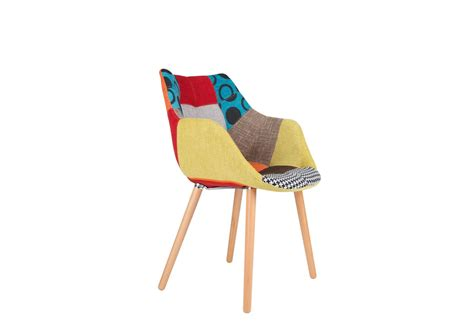 chaise design chaise design twelve patchwork deco originale chaise