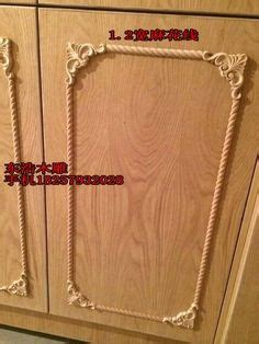 kitchen cabinet onlays crowned acanthus with ornate corners on kitchen cabinet 2638