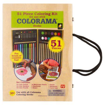 colorama books coloring kit  count walmartcom