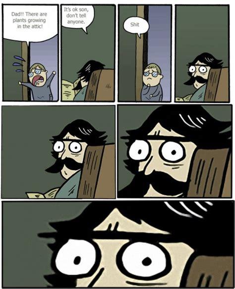 Dad Comic Meme - stare dad comics latest comics illegal activities