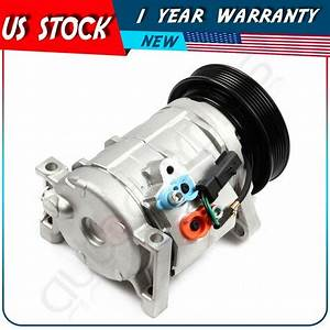 New A  C Compressor And Clutch Fits Dodge Caravan Chrysler