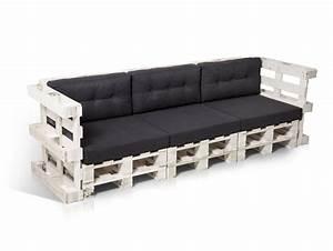 Couch Aus Paletten : paletti 3 sitzer sofa aus paletten wei lackiert ~ Whattoseeinmadrid.com Haus und Dekorationen