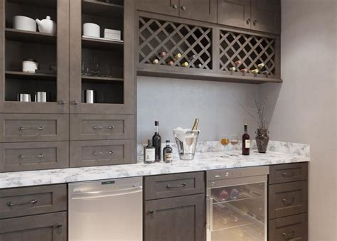 Prefab Bar by Pre Assembled Bar Room Cabinets Bar Cabinets The Rta Store