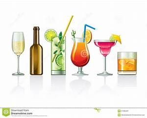 Beverages and cocktails stock image. Image of decoration ...
