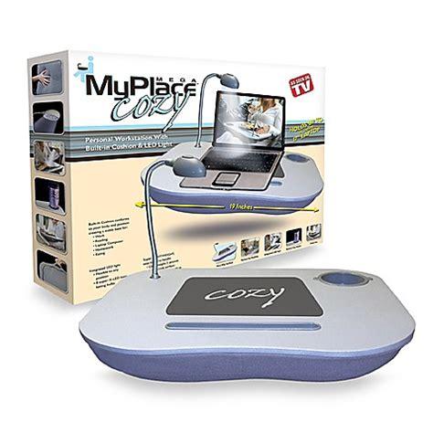 bed bath and beyond computer lap desk my place cozy mega lap desk bed bath beyond