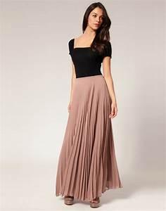 Women Fashion Trend Long Skirts Trends