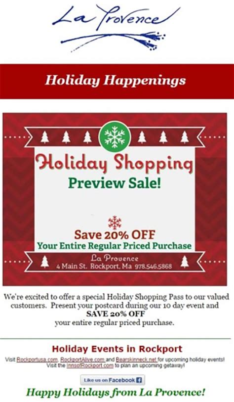 creative ideas   holiday email marketing