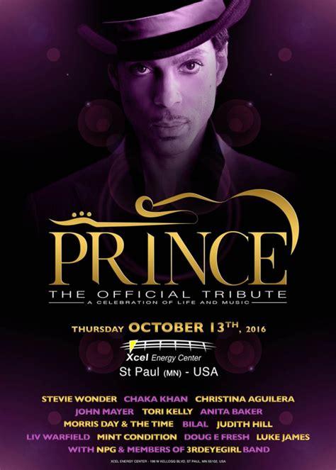 prince  official tribute  xcel center st paul