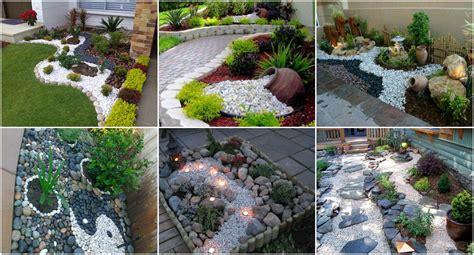 Garten Gestalten Steine garten mit steinen gestalten und dekorieren nettetipps de