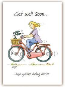 Funny Get Well Soon Card