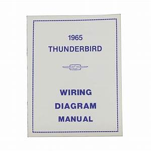 1965 Thunderbird Wiring Diagram Manual Reprint Ford Factory Wire Color Codes Gauges Repair