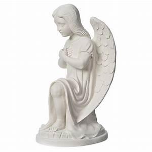 Statuette Ange Exterieur : statue ext rieur ange gauche marbre vente en ligne sur holyart ~ Teatrodelosmanantiales.com Idées de Décoration