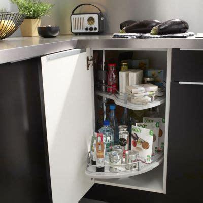 meuble angle cuisine castorama rangement d 39 angle demi lune castorama