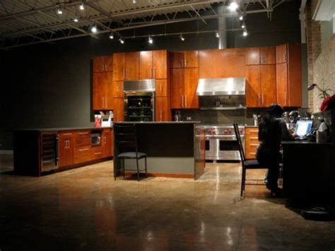 concrete floors in kitchen concrete floors both a statement and a functional choice 5668