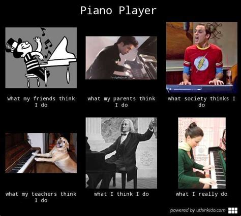 Piano Memes - piano player what people think i do what i really do meme image uthinkido com simple piano