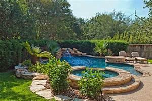 vanishing edge freeform and geometric swimming pool With free form swimming pool designs