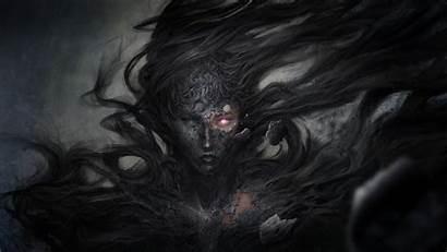 Demon Fantasy Witch Dark 8k Wallpapers 4k
