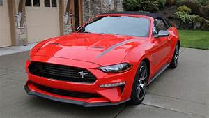 2020 Ford Mustang EcoBoost Convertible with High-Performance Package Review | Autoblog